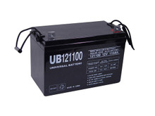 Sealed Lead Acid Battery - UB121100 - 12v 110Ah L1 Terminal