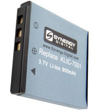 Li-ion Replacement Battery for Kodak KLIC7001 - 3.7v 900mAh