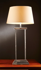 Table Lamp Base In Nickel - BND