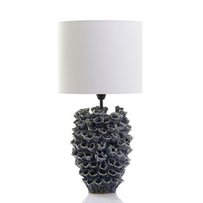 Table Lamp With Shade Blue - LNDZ