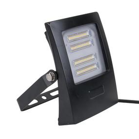 Marine Grade Vandal Resistant Flood Light - 30W 2850lm IP66 IK08 5000K 160mm Black
