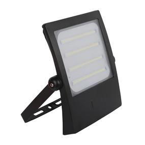 High Tech-100 LED 100W IP66 Floodlight with Black Polycarb Fascia
