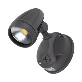 Robust-15 Single Head 15W LED Spotlight - Tri Colour, Grey
