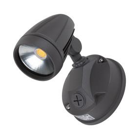 Robust-15 Single Head 15W LED Spotlight - Tri Colour, Grey