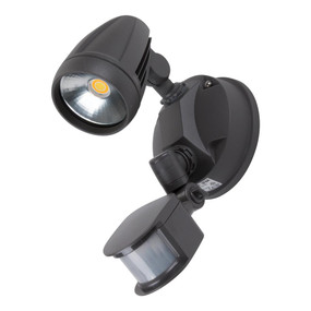 Robust-15S Single Head 15W LED Security Spotlight - Tri Colour, Grey