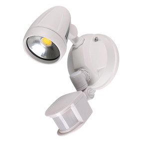 Robust-15S Single Head 15W LED Security Spotlight - Tri Colour, White
