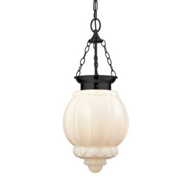Contemporary Lantern Pendant Light - Opal