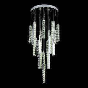 Modern LED Crystal LED Pendant Light - 500mm