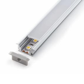 ALP033 Aluminium Profile With PC Opal Diffuser 1M Polycarbonate 21.4x3mm