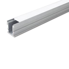 Aluminium Profile, with PC Opal Matte Diff , 2M/PC