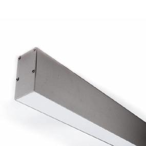 ALP051 Aluminium Profile With PMMA Opal Diffuser 2M Polycarbonate 31.5x66.8mm