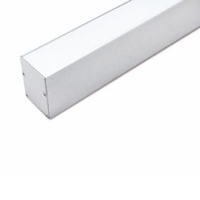 ALP052 Aluminium Profile With PC Opal Diffuser 1M Polycarbonate 46.4x70mm