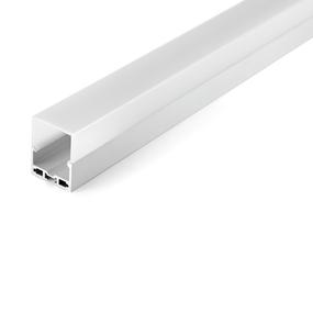Aluminium Profile , with PC Opal Matte Diff , 2M/PC