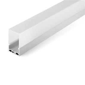 Aluminium Profile, with PMMA Opal Matte Diff 2M/PC 35mm