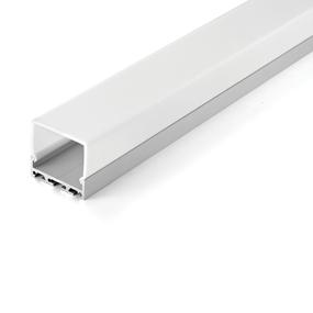 Aluminium Profile , w / PMMA Opal Matt Diff 2M/PCS