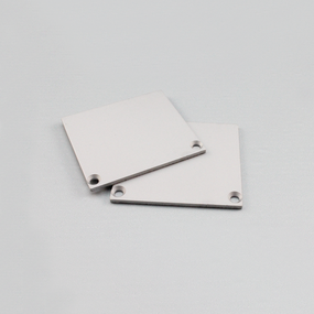 2 x End Caps (Pair) without holes to suit VB-ALP065
