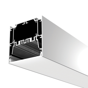 Aluminium Profile, with PC Frosted Cover, 2.5M/PCS