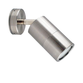 Wall Light - 240V Marine Grade 316 Stainless Steel Adjustable GU10 35W IP67 17cm
