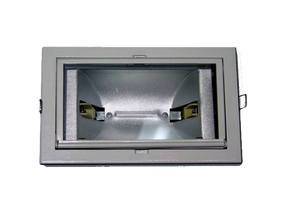 70W Metal Halide Shoplight In Silver