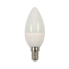 4W Natural White LED ECO Candle Small Edison Screw Twin Pack