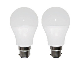 B22 LED Globe Twin Pack - 10W 887lm 5000K Frosted Non-Dimmable