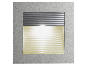 LED Louver Square Recessed Wall Light Colour Warm White