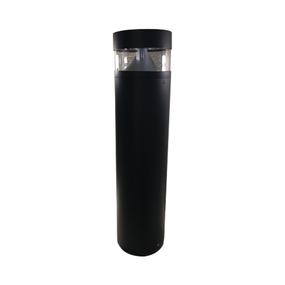 8W LED Stunning Warm White Black Bollard Light