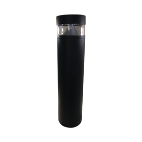 8W LED Stunning Cool White Black Bollard Light