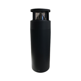 Bollard Light - Vandal Resistant 240V 410lm IP65 IK10 4000K 600mm Black Commercial Grade