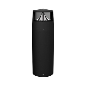Bollard Light - Vandal Resistant 240V 410lm IP65 IK10 4000K 1m Black Commercial Grade