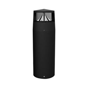 12W LED 302 Series Cool White Black Bollard Light