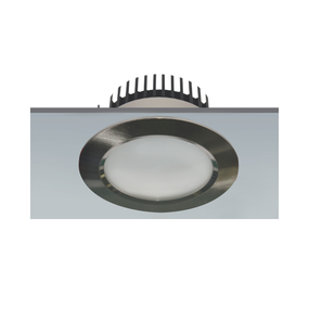 LED Downlight - Dimmable 14W 950lm IP20 3000K 115mm Chrome Commercial Grade