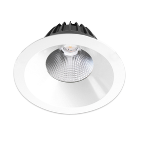 LED Downlight - Non-Dimmable 52W 6000lm IP44 3000K  220mm White Shop Light