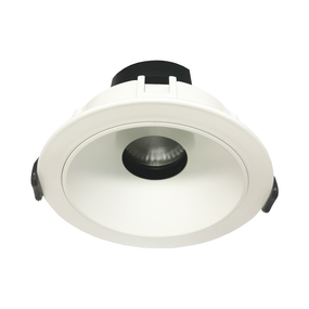 LED Downlight - Dimmable 9W 900lm IP20 3000K 100mm White Adjustable 36 Degrees Commercial Grade