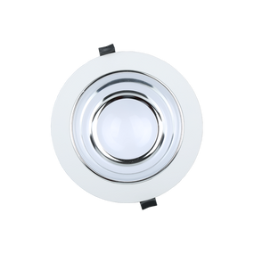 LED Downlight - Dimmable 25W 2340lm IP54 Tri Color 228mm White Shop Light