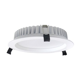 LED Downlight - Dimmable 45W 4380lm IP40 4000K 280mm White Shop Light