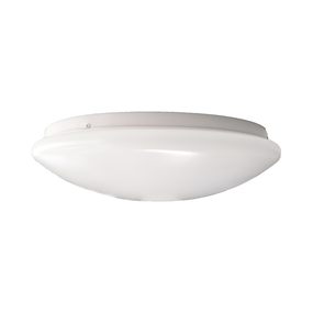 16W Cool White LED Ceiling Oyster Lamp 290mm