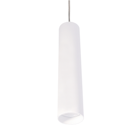 13W Cool White LED Pendant In White
