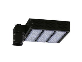 100W Natural White LED Shoebox Street Light Black