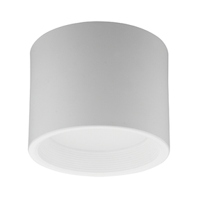Surface Mounted Downlight - Dimmable 13W 900lm IP44 3000K 130mm White