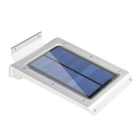 Solar Powered Security Sensor LED Wall Light