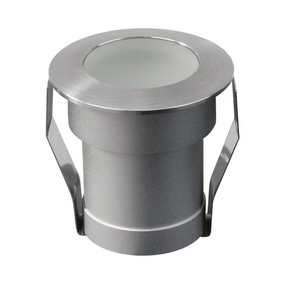 Ground Light - 24V Marine Grade 316 Stainless Steel Vandal Proof 3000K 180lm 3W IP67 IK10 4cm