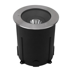 Ground Light - 24V Marine Grade 316 Stainless Steel 3000K 2450m 18W IP67 23cm