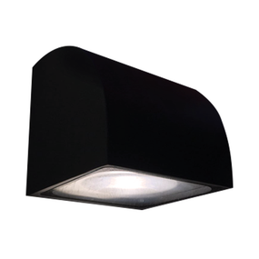12W LED Modern Warm White Black Wall Light
