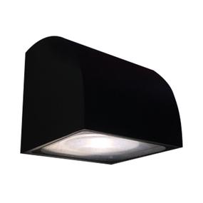 12W LED Modern Cool White Black Wall Light
