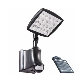 Solar Flood Light - Infrared Sensor Super Bright 550lm 3000K