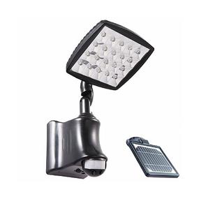 Solar Flood Light - Infrared Sensor Super Bright 550lm 3000K
