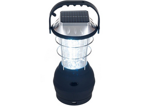 Portable Solar Lantern with built in Panel With USB Charger