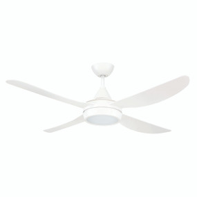 Best In Class 52 Inch Ceiling Fan and Light with Ezy-Fit Blades, White