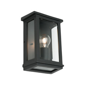 Wall Light - Marine Grade E27 60W IP44 240mm Black
